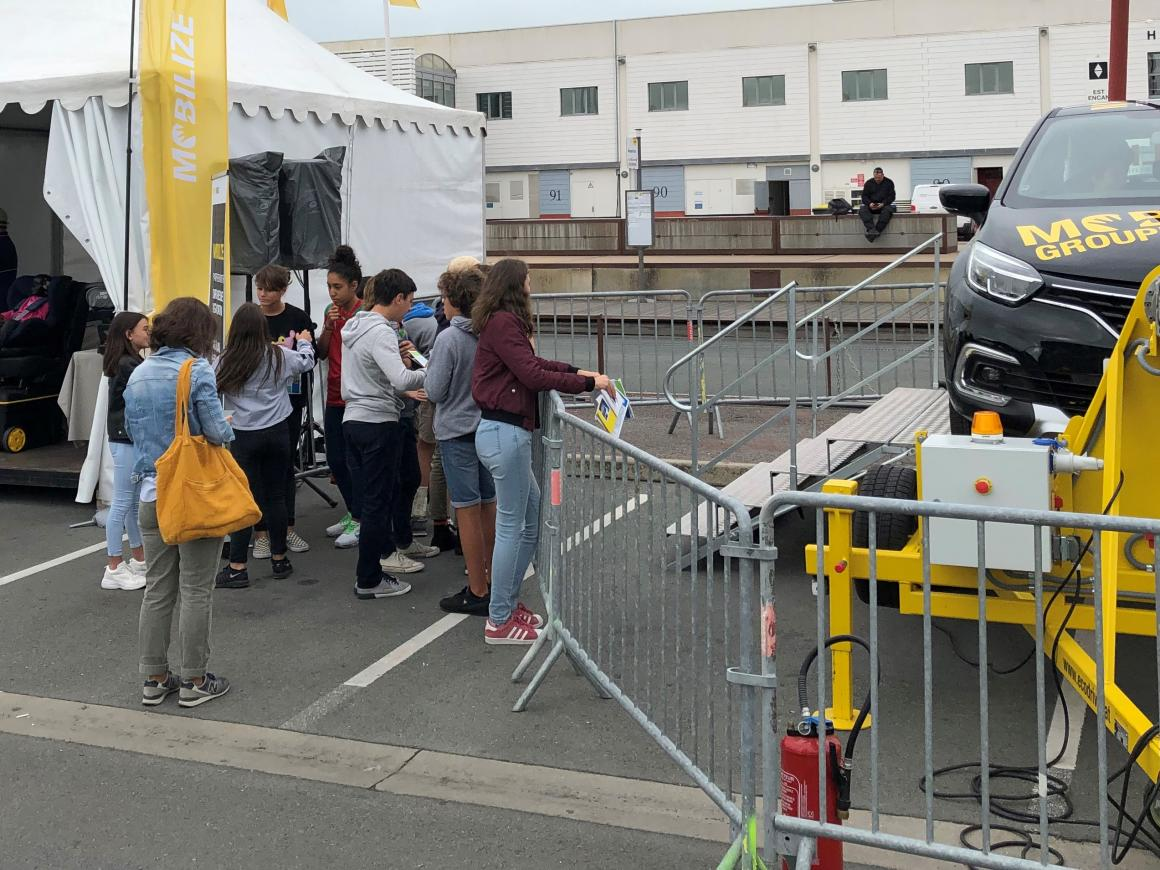 Renault Road Safety stand
