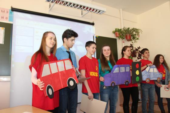 Teaching road signs to primary schools' pupils