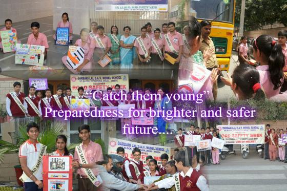 """Catch them young"" -Preparedness for brighter and safer future"
