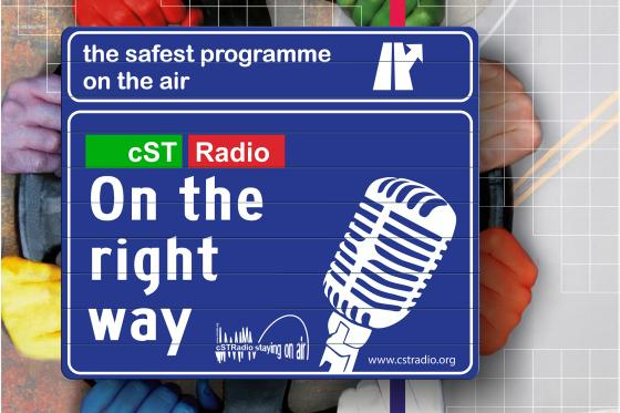 On the right way. The safest programme on the air