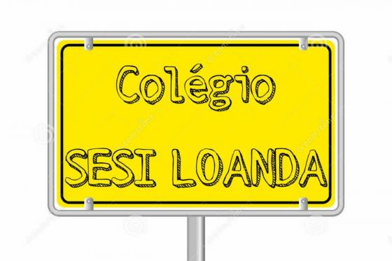 Signage plate with name Sesi Loanda