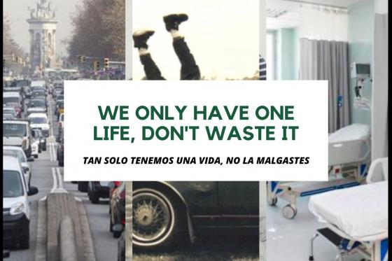 We only have one life, don't waste it