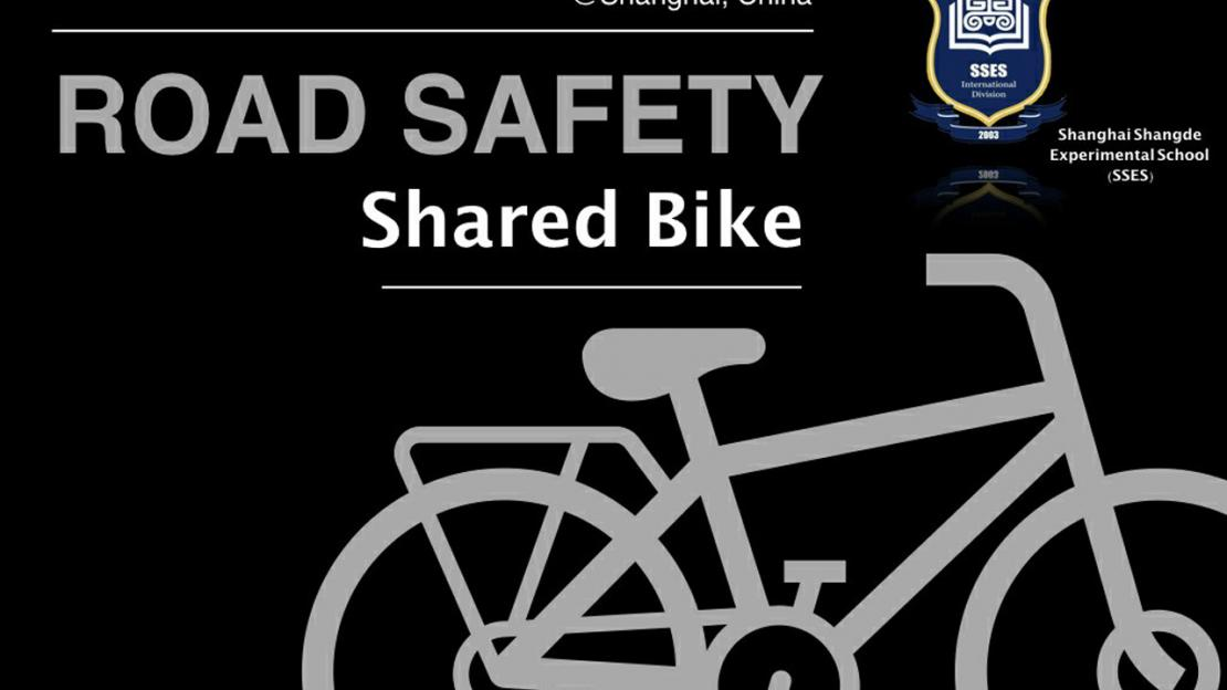 Road safety for shared bikes in Shanghai