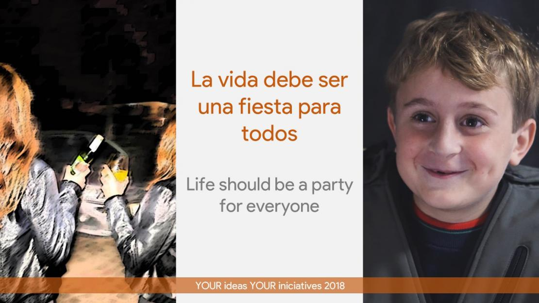 Life should be a party... for everyone