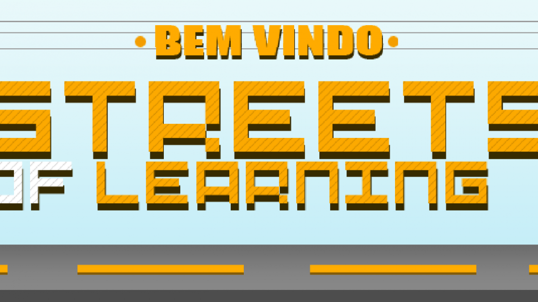 Streets of Learning Quiz Initial Screen Image.
