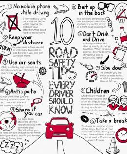 10 tips to improve safety on roads