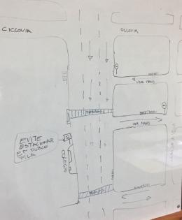 first draft of the perpendicular street's solution