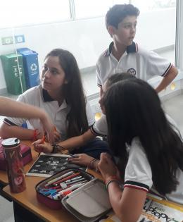 Activity with students