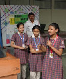 Delhi Traffic Police Interacts With Students
