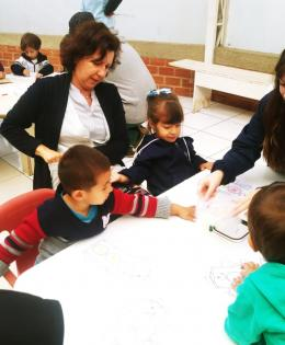 Playful activities with AMCIP students